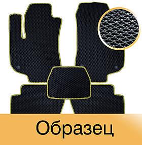 Коврики EVA в салон Nissan Qashqai (J10) 2007-2010. Star-Tex. 5 шт.