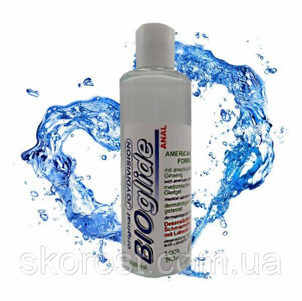 Анальная интимная смазка обезболивающая «BIOglide » 200 mg