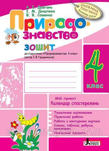 Володарська М.О. Природознавство. 4 клас+ календ. до підручника Грущинської І.В.