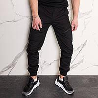 Штаны мужские черные карго с манжетом от бренда Тур модель Апачи (Apache) размер S, M, L, XL, XXL