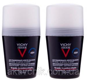 Дезодорант для мужчин, сильного действия Vichy Homme Deodorant Anti-Transpirant 48H
