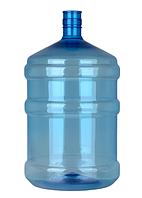 Бутыль для воды 19 л ПЭТ без ручки