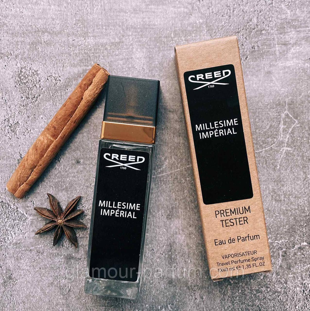 TESTER міні-парфуми Creed Milessime Imperial (Крід Миллисиме Імперіал) 40мл репліка ОПТ