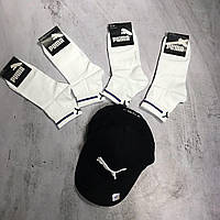 Мужские спортивные носки Puma Middle White, фото 1