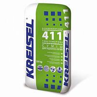 Смесь Kreisel 411 для пола самовыравнивающаяся 5-35 мм, 25кг
