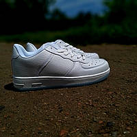 Кроссовки белые в стиле найк Nike Air Force