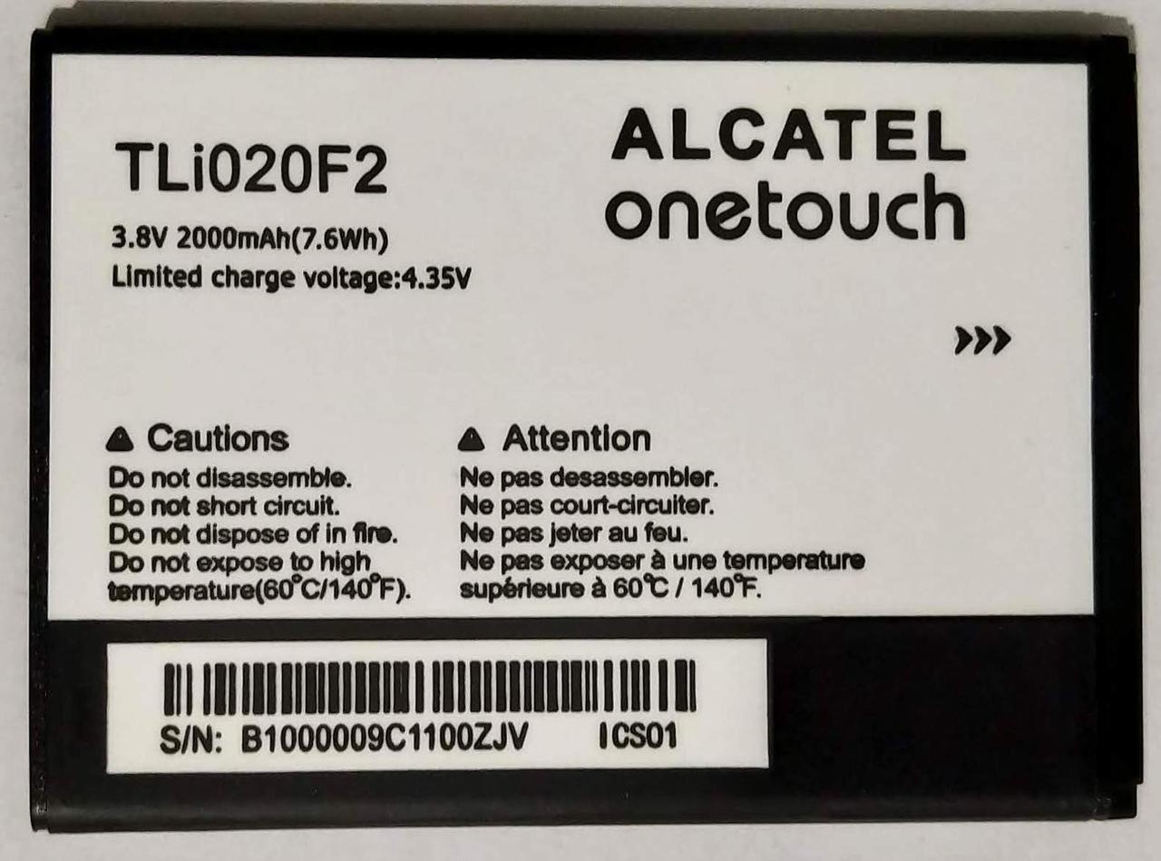 "Акумулятор ""Original"" для Alcatel 7040/020F2 2000mAh"