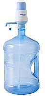 Бутыль с помпой механической А6 на 19 л-поликарбонат с ручкой