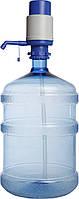 Бутыль с помпой механической В1 на 19 л-поликарбонат без ручки