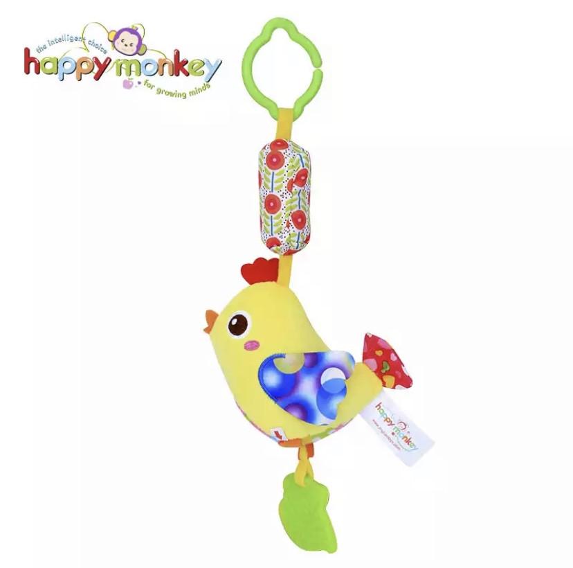 Подвесная игрушка с колокольчиком ЦИПА