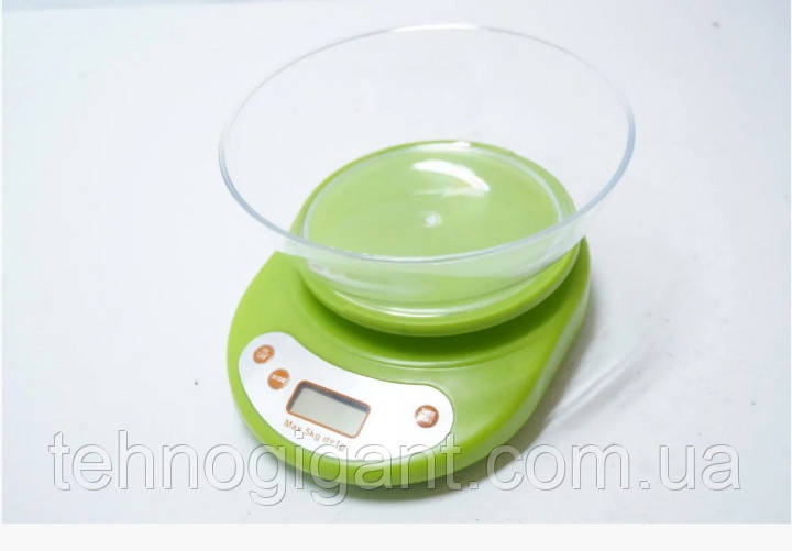 Весы электронные кухонные с чашей 5 кг Opera-K 1