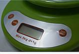 Весы электронные кухонные с чашей 5 кг Opera-K 1, фото 2