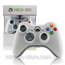 Безпровідний геймпад джойстик Xbox 360 Wireless Controller Білий, фото 2