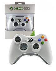 Безпровідний геймпад джойстик Xbox 360 Wireless Controller Білий, фото 3