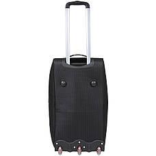 Дорожная сумка средняя FILIPPINI три колеса 62х33х38  выдвижная ручка  черный цвет   ксТ0045чср, фото 2