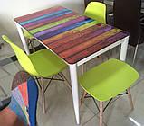 Пластиковый стул на буковых ножках M-05 лайм Vetro Mebel (бесплатная доставка), фото 6