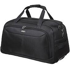 Дорожная сумка FILIPPINI большая три колеса 67х38х43 выдвижная ручка чёрный цвет ксТ0045чб, фото 2
