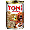 TOMi Dog 3 Kinds of Poultry (3 вида мяса птицы в соусе) 400 г