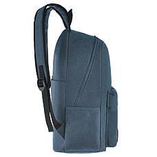 Рюкзак молодёжный BAIYUN 43х30x16 брезент  ксВУ738-6син, фото 3
