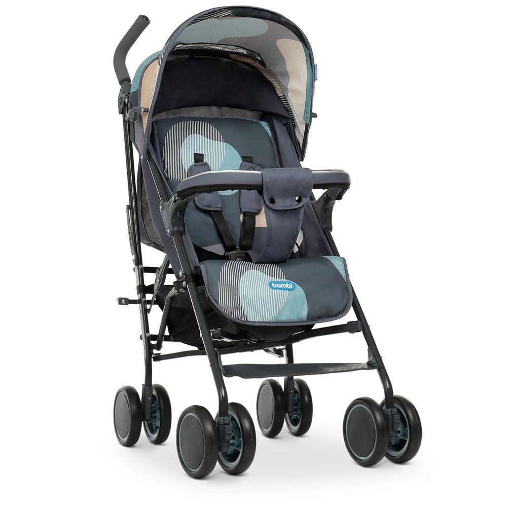 Детская коляска -трость Gray Blue