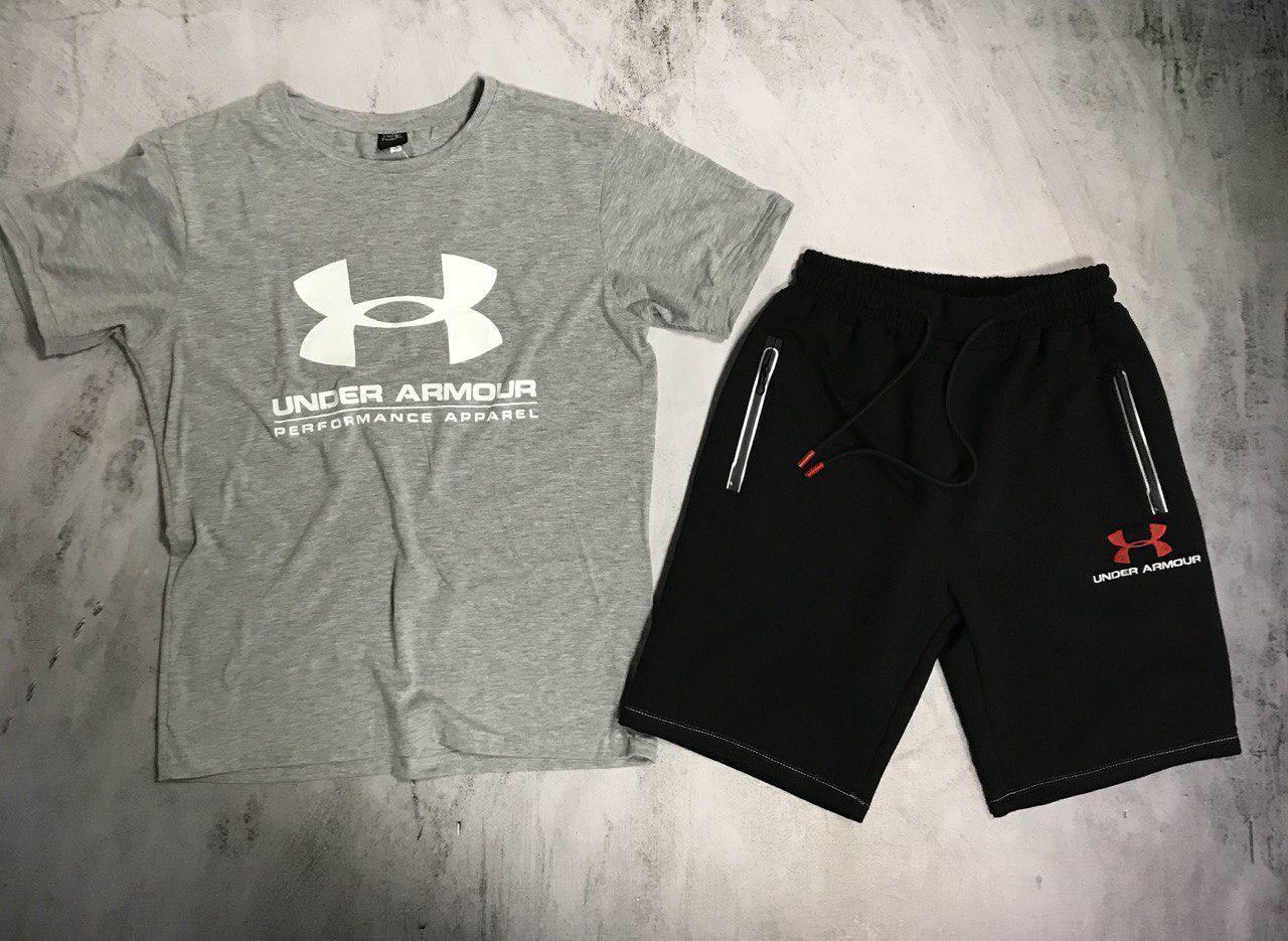 Мужской спортивный костюм (футболка и шорты) Willpower