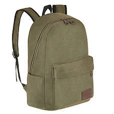 Рюкзак молодёжный BAIYUN 43х30x16 ткань брезент  ксВУ738-6х, фото 2