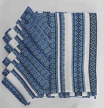 Комплект столовый Едельвика 230Х140 17.3 Коттон Синий