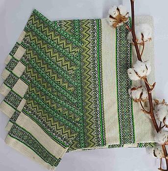 Комплект столовый Едельвика 230Х140 17.3 Лен Зеленый