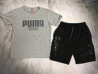 Мужской спортивный костюм (футболка и шорты) Puma Original Sportwear, фото 1