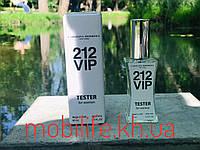 Тестер Женская Туалетная Вода Carolina Herrera 212 VIP 60мл (Каролина Херрера 212 Вип)/Высокое Качество/