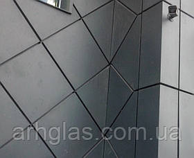 Фасадні панелі різних геометричних форм