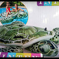 Надувной матрац в виде черепахи