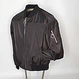 Легка молодіжна куртка куртка-бомбер з плащової тканини жіноча модна від виробника, фото 6