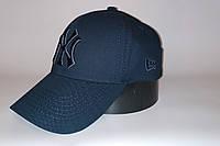 Бейсболка мужская NEW YORK 20-0703 тёмно-синяя