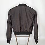 Легка молодіжна куртка куртка-бомбер з плащової тканини жіноча модна від виробника, фото 4