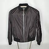 Легка молодіжна куртка куртка-бомбер з плащової тканини жіноча модна від виробника, фото 7