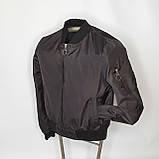 Легка молодіжна куртка куртка-бомбер з плащової тканини жіноча модна від виробника, фото 2