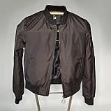 Легка молодіжна куртка куртка-бомбер з плащової тканини жіноча модна від виробника, фото 3