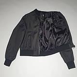 Легка молодіжна куртка куртка-бомбер з плащової тканини жіноча модна від виробника, фото 8