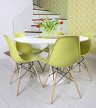 Пластиковый стул на буковых ножках M-05 лайм Vetro Mebel (бесплатная доставка), фото 9