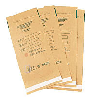 Крафт пакеты для стерилизации 75х150 Медтест, для паровой, воздушной, этиленоксидной 100 шт