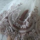 Нарядное белое платье с бантом на девочку на девочку 9. Размеры 3 мес, фото 3