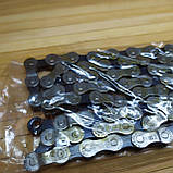 Велосипедная цепь на 8 звезд Shimano Ig-51, фото 6