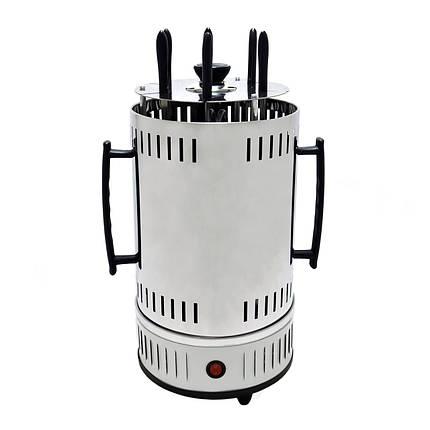 Электрошашлычница Domotec BBQ MS-7782 Біла, фото 2