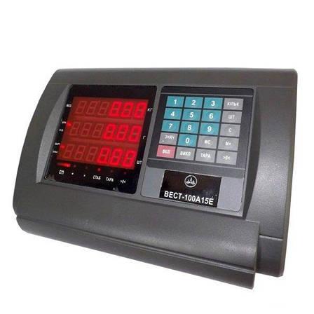 Весы товарные электронные Кировоград Весы ВЭСТ-150А15Е Эконом (150 кг), фото 2