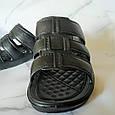 Шлёпанцы мужские черные размер 44, фото 3