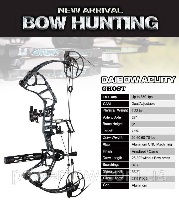 DAIBOW Acuity лук для стрельбы