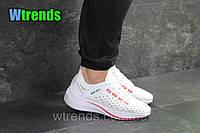 Кроссовки мужские Nike EXP-X14  , белые с красным ; верх: текстиль на пропитке , ( ! Наличие-только►: 41 43 ◄)