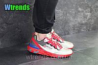 Кроссовки мужские Nike Undercover X Nike React Element 87  , Красные с бежевым ; верх: сетка на пропитке , ( ! Наличие-только►: 42 43 44 45 46 ◄)
