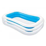 ✅Сімейний надувний басейн Intex 56483 262х175х56см, фото 2